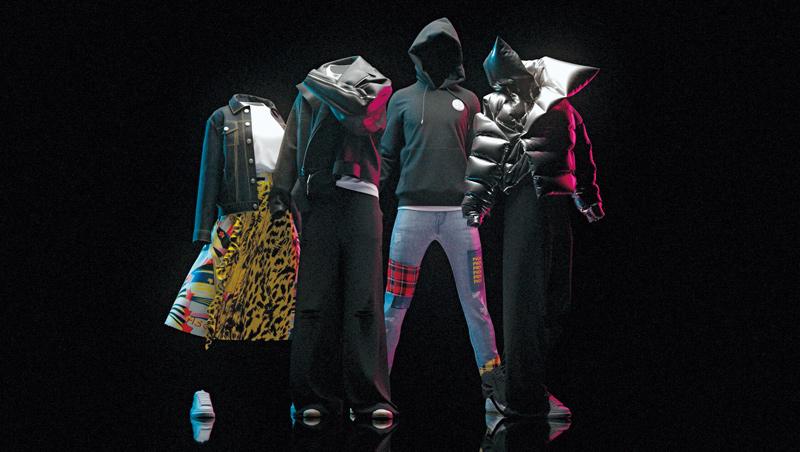 荷蘭時尚新創The Fabricant設計的衣服只存在於虛擬空間,網站更標榜:「總是數位,絕不實體。」顧客想購買得透過區塊鏈。
