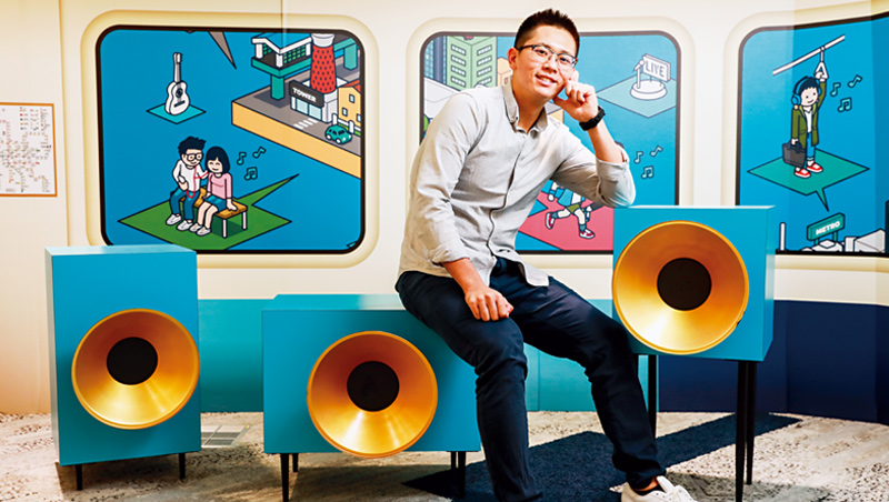 KKBox音樂事業群總經理黃嘉宏(圖)表示,不希望看到台灣雖有創作自由,卻因為缺乏好的商業機制,使這片土地沒人創作。