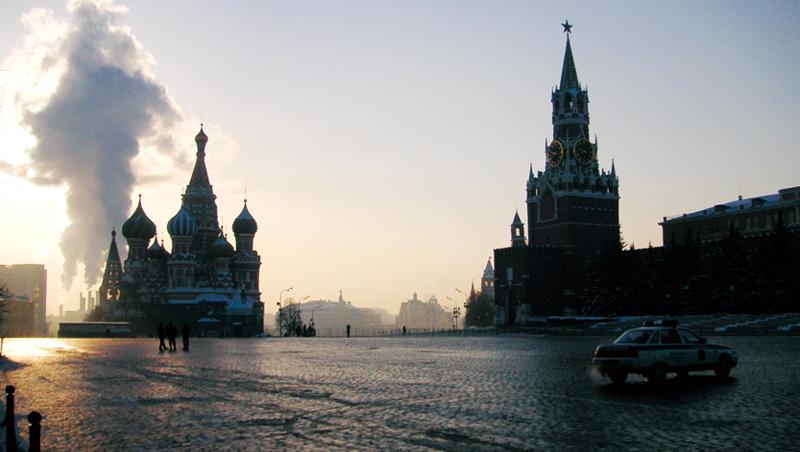 夏季豔麗的莫斯科紅場,冬季因白雪的調和,顯得更加美麗耐看。