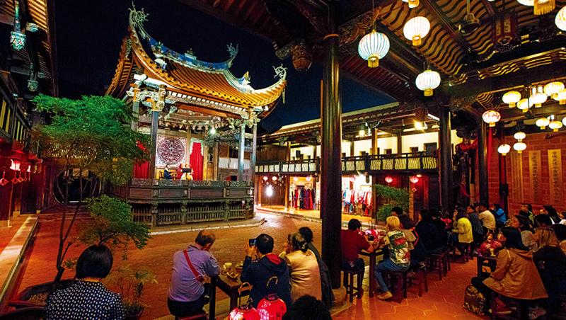 清朝時期許多軍事與政治會議,都在這座大花廳發生。