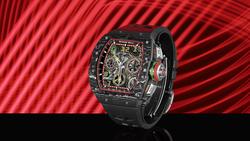 全新RM 65-01自動上鍊雙秒追針計時碼錶—秉持技術和創新的價值核心