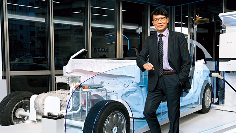市面上已有車廠推出,關鍵零組件全由台達電供應的車款。電動車方案事業群總座唐修平透露,今年將有更多車款進入量產。