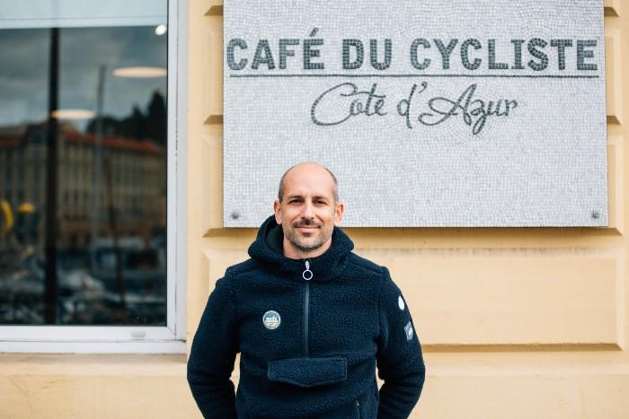 Cafe du Cycliste創辦人Remi Clermont。