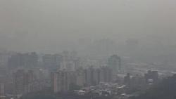 霧霾嚴重!101大樓消失了 這些地區空汙紅色警示