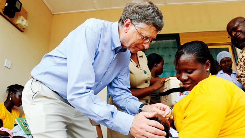比爾蓋茲50歲後決定轉移事業重心,投入更多心力在慈善事業與全球重大議題上,包括教育、健康及氣候。