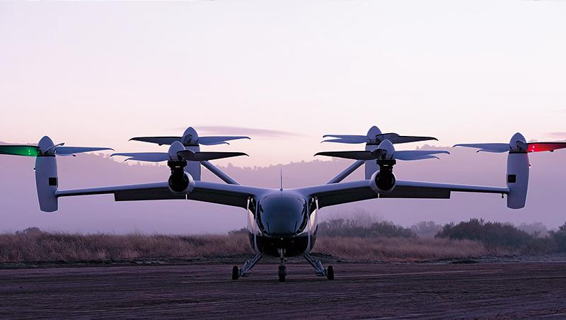 美國飛行服務新創Joby-Aviation開發的電動垂直起降飛行器,已進行超過1千次飛行測試,且是第1台經美國空軍批准的eVTOL。
