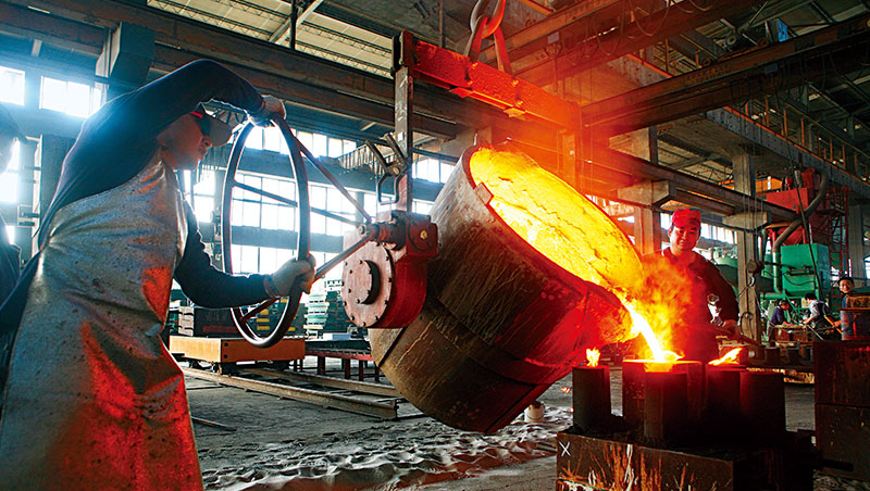 受惠於原料價格推升,以及終端需求復甦拉動,市場多數看好鋼鐵業今年的景氣。