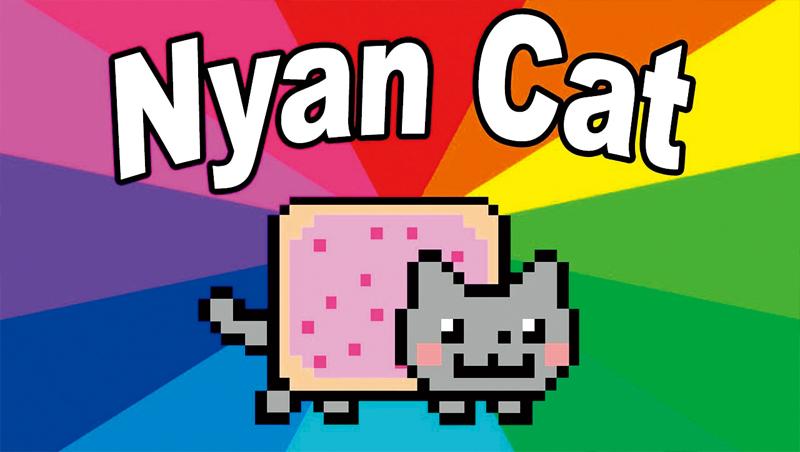 源自YouTube的動圖「彩虹貓」10歲了,創作者以NFT形式供大眾競標,最後以300枚以太幣、價值60萬美元售出。