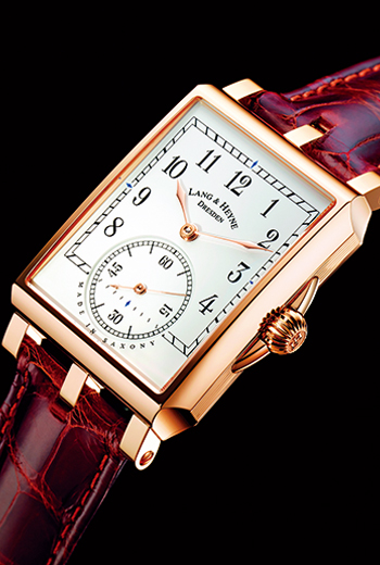GEORG高溫燒製的大明火琺瑯面盤低調又優雅,蘊含德國頂級製錶風格。