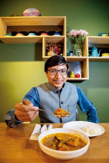戴國瀾,現任印度台北協會會長,來自印度東北部的阿薩姆邦(Assam)。2020年七月駐台,迄今九個。
