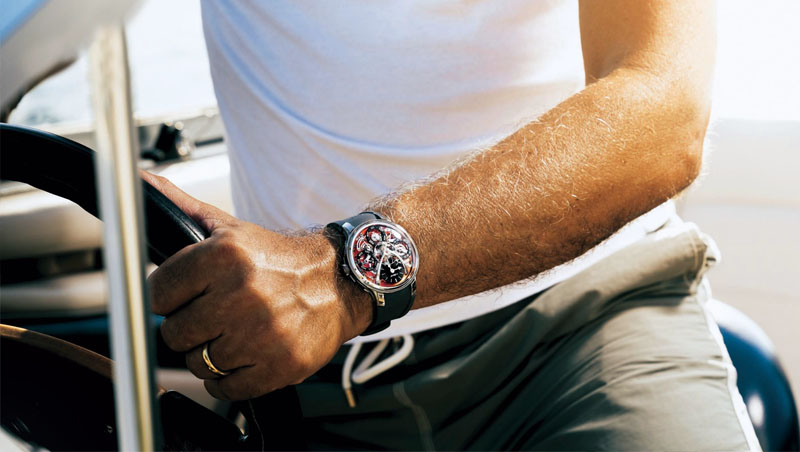 高級腕錶不再只能蒐藏櫃中,也可成為陪伴日常生活的時間夥伴