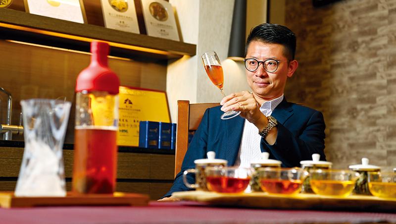 華剛茶業執行長 杜蒼林
