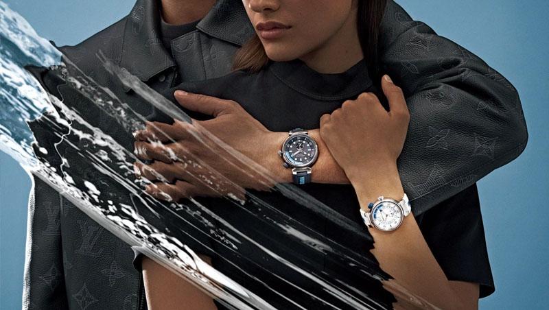 中性錶徑、運動風格的路易威登Tambour Street Diver潛水腕錶