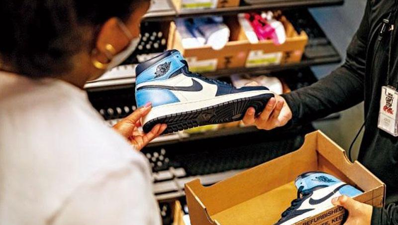 Nike 2025年前的目標是減少7成的溫室氣體排放量,以及把翻新、回收或捐贈的球鞋數量增加10倍