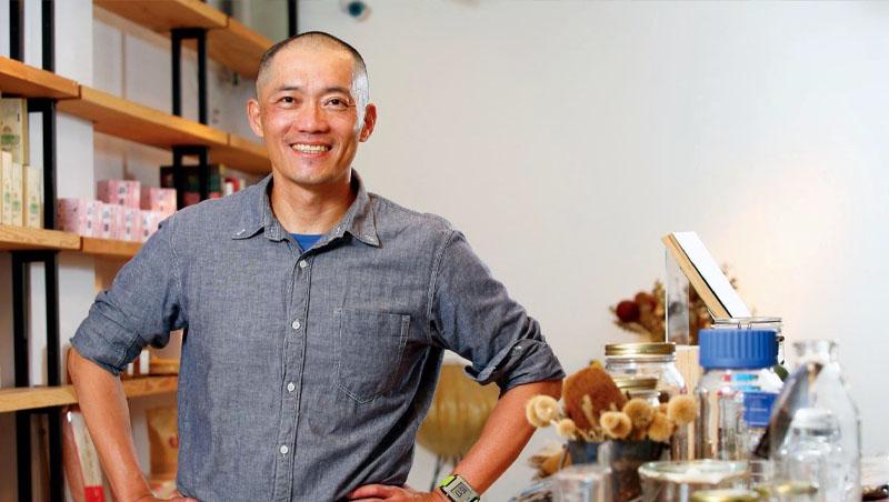 我愛你學田市集實驗廚房主廚蘇彥彰