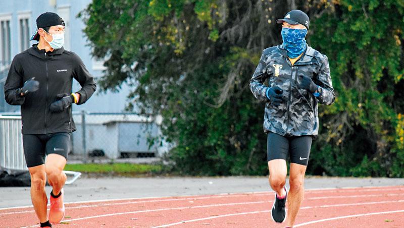 跑步同時維持社交距離