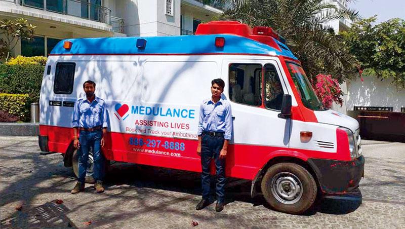 在印度,病患曾等了80分鐘救護車才抵達,而初創商巴杰打造Uber版救護車,目的要讓這類憾事減少,發揮緊急醫療作用