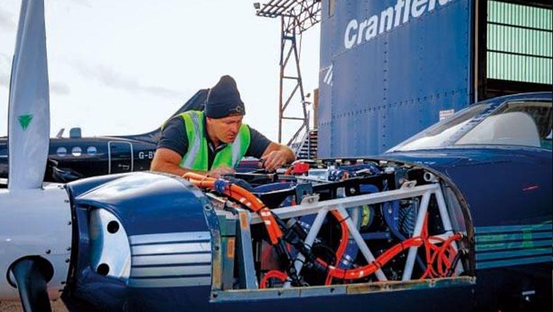 ZeroAvia主要產品:飛機氫能傳動系統