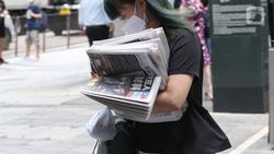 「懇請大家千萬珍重!」香港《蘋果日報》內部信:25日是存亡最後期限