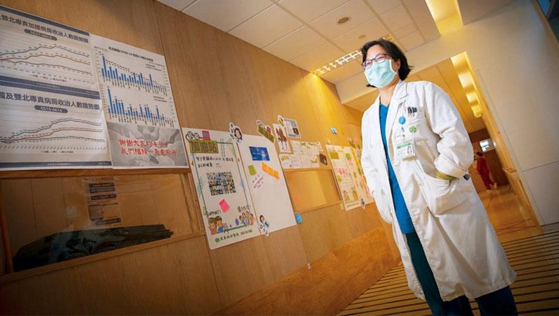 亞東醫院內科加護病房主任、胸腔內科主治醫師張厚台