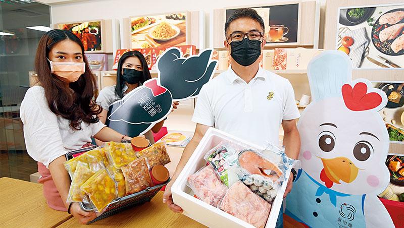 食家安總經理陳明信(圖右)