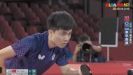 林昀儒對戰球王樊振東,日本球評:竟能擺出「涼涼的臉」實在太狂了!