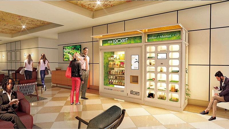 Alchemista疫情中,推出The Locket鮮食販賣機。它不只擁有自家烹飪團隊,也和餐廳合作,因此能夠提供用戶多樣化餐點