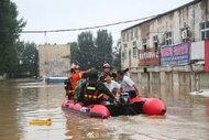 德國之聲》不只鄭州!新鄉2小時降雨超越鄭州,河南水災影響範圍有多大?