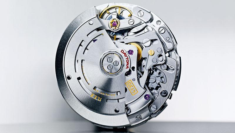 Daytona所搭載的4130機芯,性能卓越,被譽為最強大的計時機種