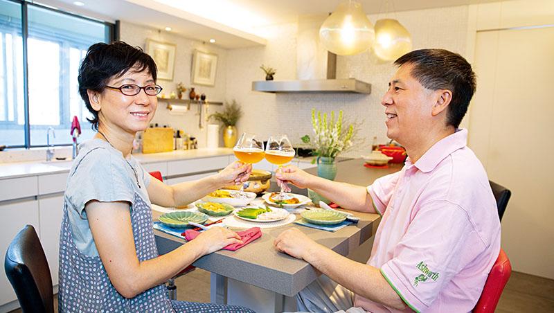 名作家蔡珠兒與汪浩