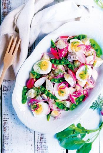 夏季輕鬆上菜,快速時蔬洋蔥馬鈴薯沙拉