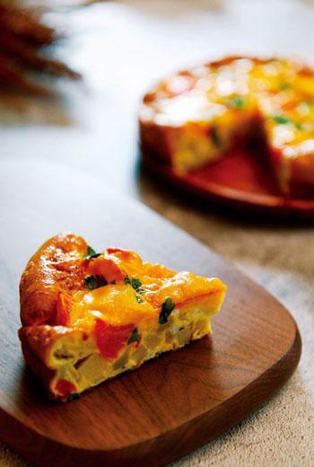 春蔬起司蛋披薩