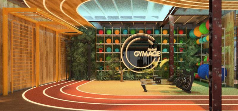 邁阿密的健身房Gymage