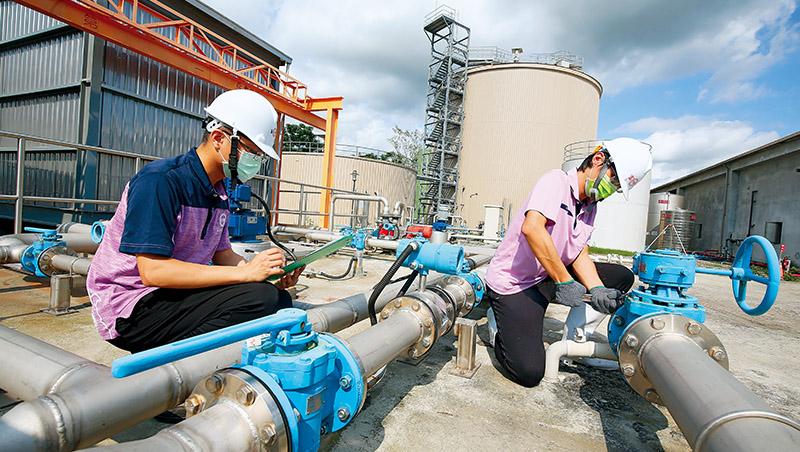 台糖東海豐園區被稱為台灣最完整的循環豬舍,不只做沼氣回收再利用,還設置逆滲透污水處理系統