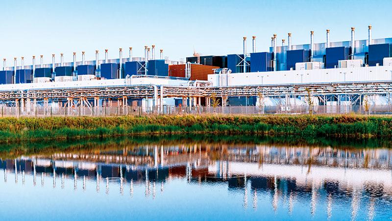 科技公司的數據中心相當耗水,為了保護水資源,Google宣布要將其設施平均使用的120%水量補回環境