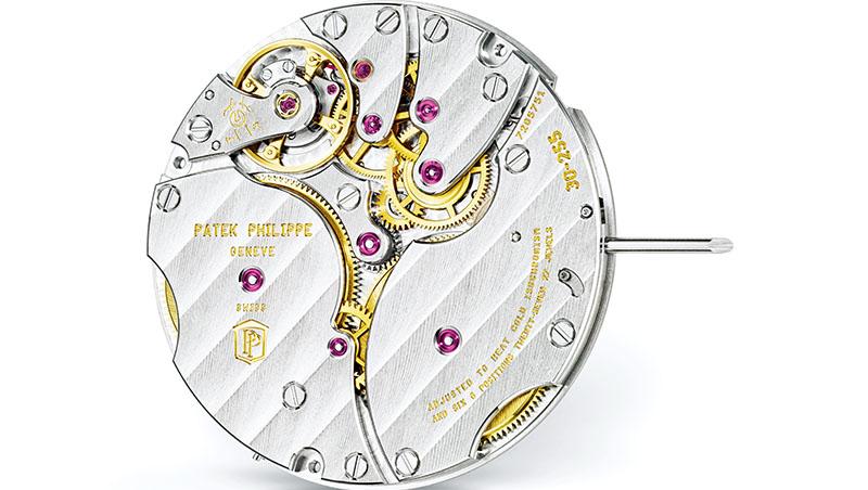 百達翡麗的Gyromax砝碼微調被公認為最精密的微調機制