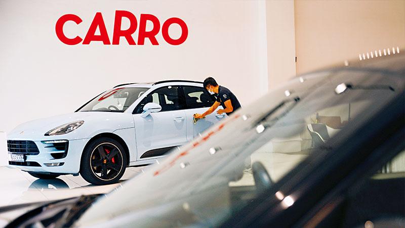 有車人口占比低,愛用數位工具的中產階級變多加上疫情,Carro快速崛起