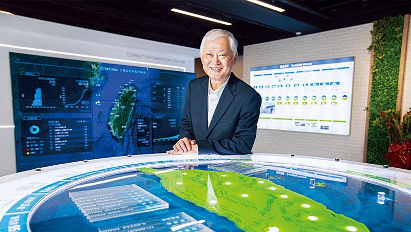 大同公司總經理:何春盛(圖)。企業成績單:台灣最大智慧電表供應商;去年拿下台灣第一個儲能自動頻率控制標案;2020年合併營收316.41億元