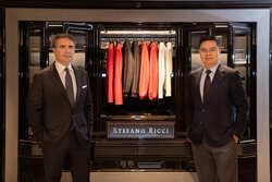 頂級男裝的全球唯一展店奇蹟!  Stefano Ricci「超前部署」