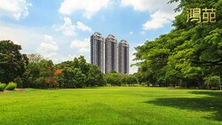 桃園中路特區的置產稀品   鴻苑為公園豪宅立典範