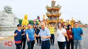 亞洲建廟大王 蓋廟像組樂高、一天出貨7間