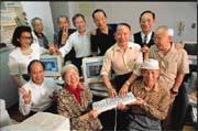 在「老爹老媽電腦俱樂部」教學相長的環境下,會員們個個都是電腦高手。