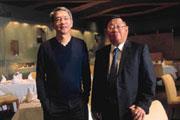 蔡辰洋(左)、蔡辰威(右)兄弟,十幾年來真情相挺,如今兩人要聯手打造東山再起美夢!