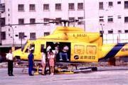 直升機平均失事率為10萬飛行小時10.95次。