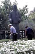 陳水扁當初極力主張拆除于右任的銅像,曾引發于家後代不滿。