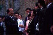 胡志強曾任「留英同學會」的活動組長。