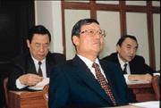 在媒體披露國安局秘帳事件前,蔡朝明(中)曾兩度向王金平秘密簡報,損害評估主要集中在外交工作。