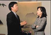3月7日,全球顯示器品牌大廠ViewSonic集團總裁朱家良和本刊總主筆李美惠談到,從小不愛念書,連大學都沒有混畢業,今日卻能成為顯示器品牌大廠的往事。