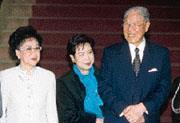 李登輝(右)自卸任總統以來,依然左右著台灣政經局勢的發展。