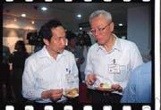 陳博志(左)與李高朝(右)慘遭阿扁「換手說」波及。